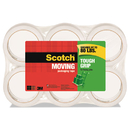 Scotch 3500-6-ESF Tough Grip Moving Packaging Tape, 1.88