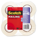 3M/COMMERCIAL TAPE DIV. MMM38424 Tear-By-Hand Packaging Tape, 1.88