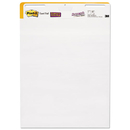 Post-It MMM559STB Self-Stick Wall Easel Unruled Pad, 25 X 30, White, 30 Sheets, 2 Pads/carton