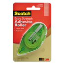 Scotch MMM6055ES Extra Strength Adhesive Roller, 3/8
