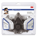 3M MMM6211PA1A Half Facepiece Paint Spray/pesticide Respirator, Medium
