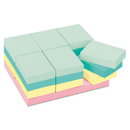 3M/COMMERCIAL TAPE DIV. MMM65324APVAD Original Pads In Marseille Colors, Value Pack, 1 1/2 X 2, 100-Sheet, 24/pack