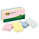 Post-It MMM653RPA Greener Note Pads, 1 1/2 X 2, Assorted Helsinki Colors, 100-Sheet, 12/pack