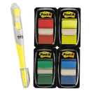 Post-It MMM680RYBGVA Page Flag Value Pack, Assorted Colors, 200 1