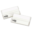Post-It MMM686F50WH3IN File Tabs, 3 X 1 1/2, White, 50/pack