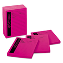 Post-It MMM766212SS Self-Stick Message Pad, 4 X 5, Pink, 50-Sheet, 12/pack