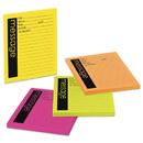 Post-It MMM76794SS Self-Stick Message Pad, 3 7/8 X 4 7/8, Rio De Janeiro Colors, 50-Sheet, 4/pack