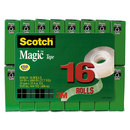 3M/COMMERCIAL TAPE DIV. MMM810K16 Magic Tape Value Pack, 3/4