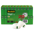 3M/COMMERCIAL TAPE DIV. MMM810K20 Magic Tape Value Pack, 3/4