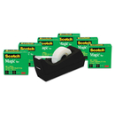 3M/COMMERCIAL TAPE DIV. MMM810K6C38 Magic Tape Value Pack W/c38 Dispenser, 3/4