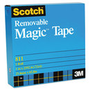 3M/COMMERCIAL TAPE DIV. MMM811341296 Removable Tape, 3/4