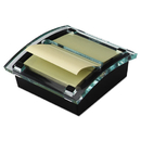3M/COMMERCIAL TAPE DIV. MMMDS330BK Clear Top Pop-Up Note Dispenser For 3 X 3 Self-Stick Notes, Black/clear