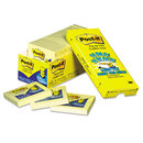 3M/COMMERCIAL TAPE DIV. MMMR33018CP Original Canary Yellow Pop-Up Refill Cabinet Pack, 3 X 3, 90-Sheet, 18/pack