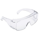 3M TGV01-20 Tour Guard V Safety Glasses, One Size Fits Most, Clear Frame/Lens, 20/Box