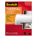 Scotch MMMTP585450 Letter Size Thermal Laminating Pouches, 5 Mil, 11 1/2 X 9, 50/pack