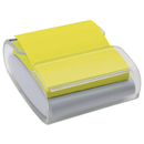 Post-it MMMWD330WH Pop-Up Notes Wrap Dispenser, 3 X 3, White/clear