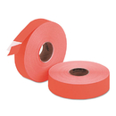 MONARCH MARKING MNK925085 Easy-Load 1136 Two-Line Pricemarker Labels, 5/8x7/8, Fluorescent Red, 3500/pack