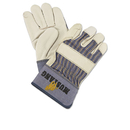 Memphis MPG1935L Mustang Leather Palm Gloves, Blue/cream, Large, 12 Pairs