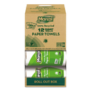 MARCAL MRC6183 100% Recycled Roll Towels, 5 1/2 X 11, 140 Sheets, 12 Rolls/carton