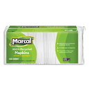 Marcal MRC6506 100% Recycled Luncheon Napkins, 12 1/2 X 11 2/5, White, 2400/carton