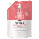 Method MTH00655 Gel Hand Wash Refill, Pink Grapefruit, 34 Oz Pouch