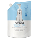 Method MTH00662 Foaming Hand Wash Refill, Sweet Water, 28 Oz Pouch