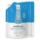 Method 01315EA Dish Soap Refill, Sea Minerals, 36 oz Pouch