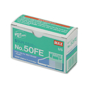 MAX USA CORP. MXB50FE Staple Cartridge For Eh-50f Flat-Clinch Electric Stapler, 5,000/box