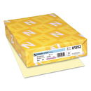 NEENAH PAPER NEE01352 Classic Crest Writing Paper, 24lb, 8 1/2 X 11, Baronial Ivory, 500 Sheets