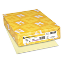 NEENAH PAPER NEE06551 Classic Laid Writing Paper, 24lb, 8 1/2 X 11, Baronial Ivory, 500 Sheets
