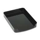 Officemate OIC22232 2200 Series Front-Loading Desk Tray, Single Tier, Plastic, Letter, Black
