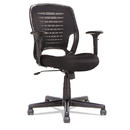 OIF OIFEM4817 Swivel/tilt Mesh Task Chair, Height Adjustable T-Bar Arms, Black