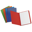Oxford OXF52513 Report Cover, 3 Fasteners, Panel And Border Cover, Assorted Colors, 25/box
