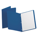 Oxford OXF52538 Report Cover, 3 Fasteners, Panel And Border Cover, Dark Blue, 25/box