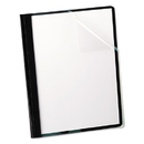 Oxford OXF55806 Clear Front Report Cover, 3 Fasteners, Letter, 1/2