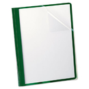 Oxford OXF55807 Clear Front Report Cover, 3 Fasteners, Letter, 1/2