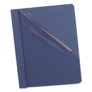 Oxford OXF55838 Clear Front Report Cover, 3 Fasteners, Letter, 1/2