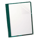 Oxford OXF55856 Clear Front Report Cover, 3 Fasteners, Letter, 1/2