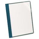Oxford Earthwise OXF57872 Earthwise Recycled Clear Front Report Covers, Letter Size, Blue, 25/box