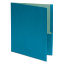 Oxford Earthwise OXF78502 Earthwise 100% Recycled Paper Twin-Pocket Portfolio, Blue