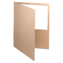 Oxford Earthwise OXF78542 Earthwise 100% Recycled Paper Twin-Pocket Portfolio, Natural