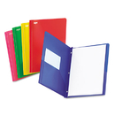 Oxford OXF99811 Two-Pocket Portfolio, Tang Fastener, 1/2