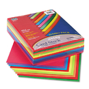 PACON CORPORATION PAC101199 Array Card Stock, 65 Lb., Letter, Assorted Lively Colors, 250 Sheets/pack