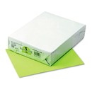 PACON CORPORATION PAC102053 Kaleidoscope Multipurpose Colored Paper, 24lb, 8-1/2 X 11, Lime, 500 Sheets/ream