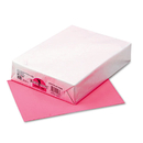 PACON CORPORATION PAC102206 Kaleidoscope Multipurpose Colored Paper, 24lb, 8-1/2 X 11, Hyper Pink, 500/ream