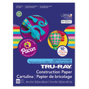 PACON CORPORATION PAC102940 Tru-Ray Construction Paper, 76 Lbs., 9 X 12, Assorted, 50 Sheets/pack
