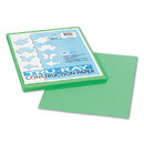 PACON CORPORATION PAC103006 Tru-Ray Construction Paper, 76 Lbs., 9 X 12, Festive Green, 50 Sheets/pack