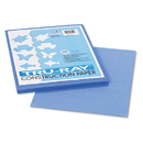 PACON CORPORATION PAC103022 Tru-Ray Construction Paper, 76 Lbs., 9 X 12, Blue, 50 Sheets/pack