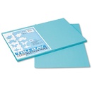 PACON CORPORATION PAC103039 Tru-Ray Construction Paper, 76 Lbs., 12 X 18,turquoise, 50 Sheets/pack