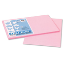 Pacon PAC103044 Tru-Ray Construction Paper, 76 Lbs., 12 X 18, Pink, 50 Sheets/pack